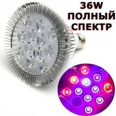 Фитолампа E27 36W полный спектр