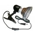 Светильник на прищепке для фитоламп Е27 с выключателем
